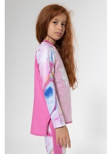 Colorinas Stay Active Girl Gang Tshirt Pembe Pembe
